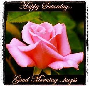Have an awesome Saturday my awesome friend